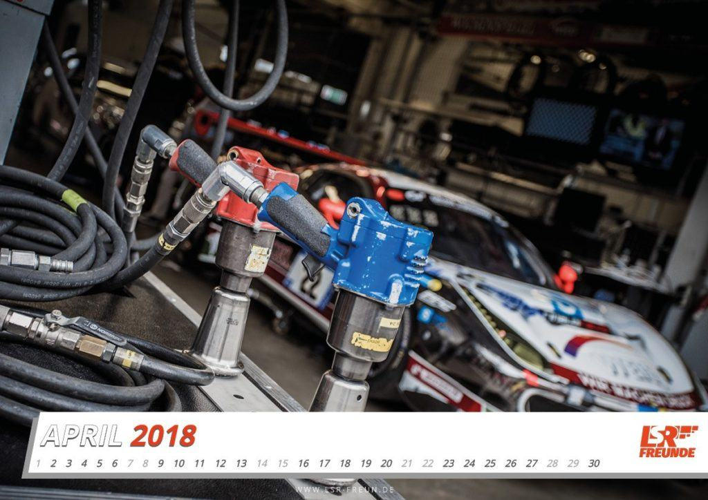#N24h Fankalender 2018 April