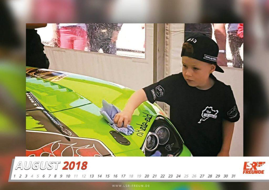 #N24h Fankalender 2018 August