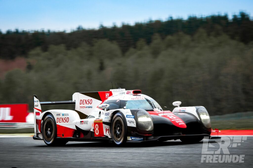 Toyota TS050 Hybrid WEC 2017 6h Spa Francorchamps Les Combes