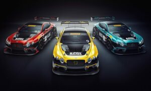Bentley GT3 K-PAX Racing Pirelli World Cahllenge