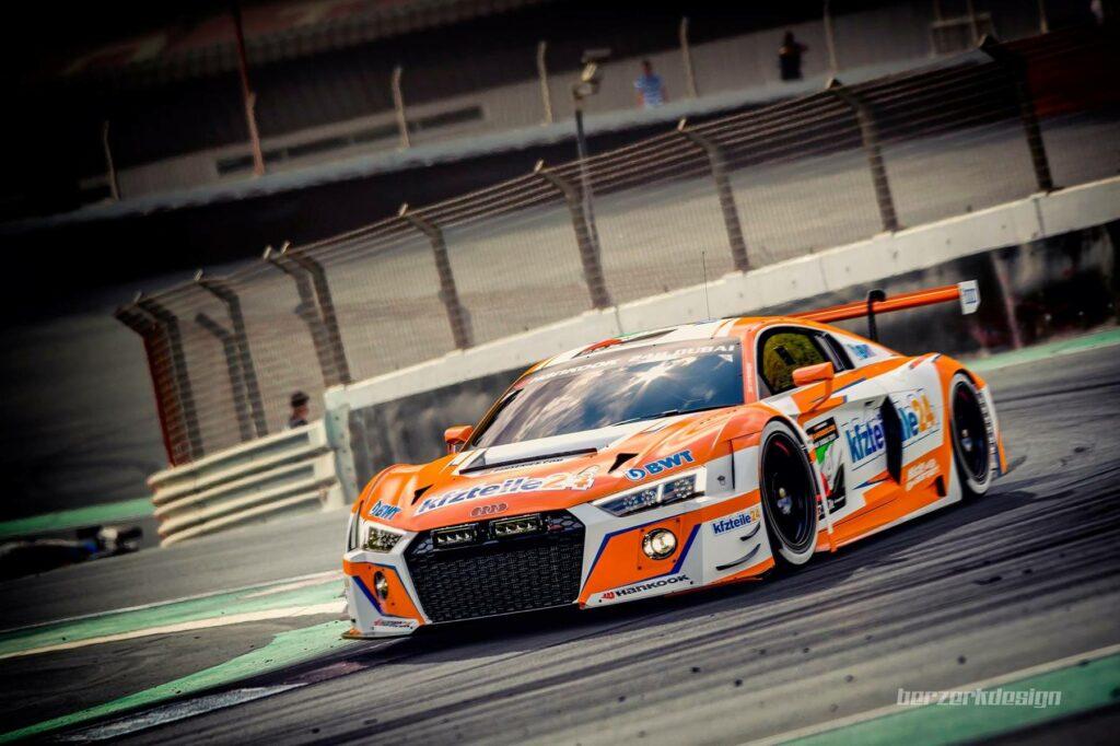 Mücke Motorsport Berzerkdesign Audi R8 LMS 24h Dubai 2018