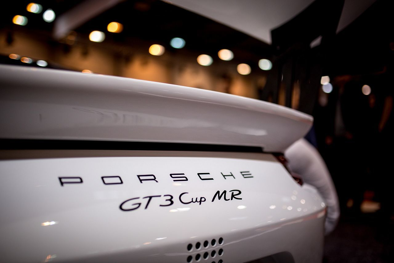 Porsche 911 GT3 Cup MR by Manthey Racing, Essen Motorshow Präsentation 2017