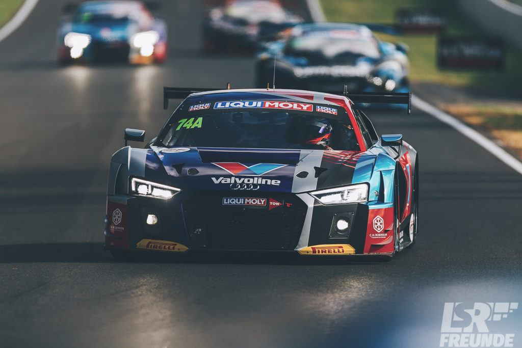 Bathurst 12hr 2018 freies Training Jamec Pem Audi R8 LMS #74
