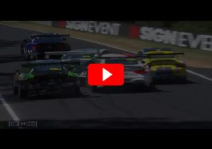 videolayer unfall chaz mostert bathurst 12hr 2018