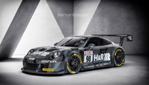 Uwe Alzen Automotive Porsche 991 GT3 Cup MR