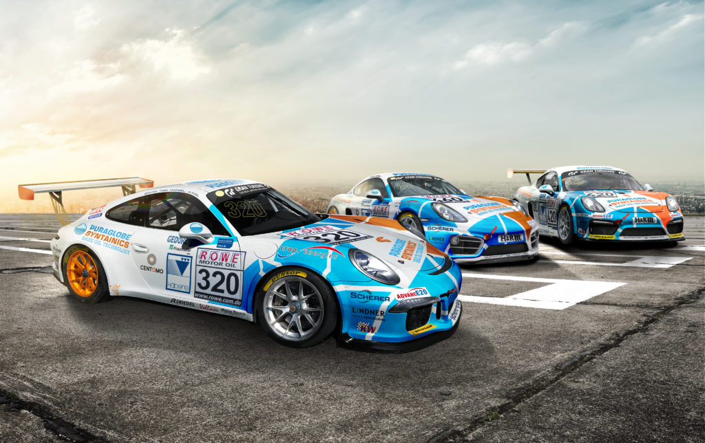 Bio-Trio Four Motors VLN 2018