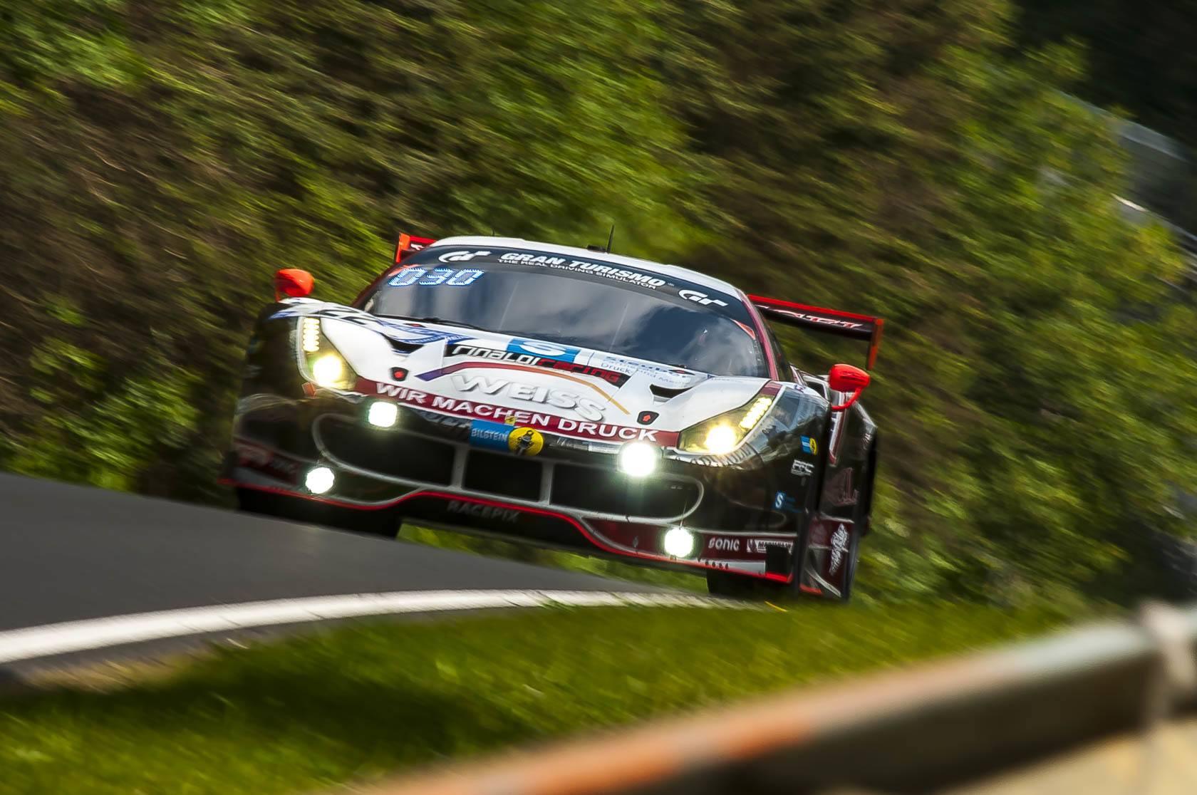 Rinaldi Racing Wochenspiegel Team Monschau Ferrari F488 GT3 24h-Rennen 2018