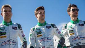 Land Motorsport Kelvin van der Linde, Sheldon van der Linde und Jeffrey Schmidt 24h Daytona