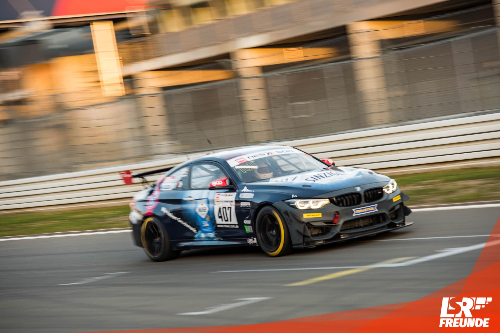Team Securtal Sorg Rennsport BMW M4 GT4 #407 NES 500 Greenhell1000 2018 Nürburgring
