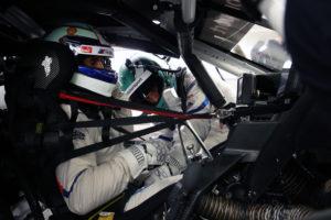 Miramas (FRA) 05th November 2018. BMW M Motorsport, Testing, Driver Change, Alessandro Zanardi (ITA) and Jesse Krohn (FIN) BMW M8 GTE.