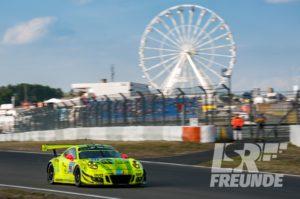 Manthey Racing Porsche 911 GT3 R Qualifying ADAC Zurich 24h Nürburgring 2018