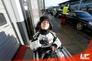 Saskia Hillen, Race4Friends, Andy Gülden, AMG GTR, Nürburgring
