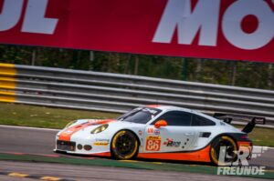 Gulf Racing UK Porsache 911 WEC Spa 2017