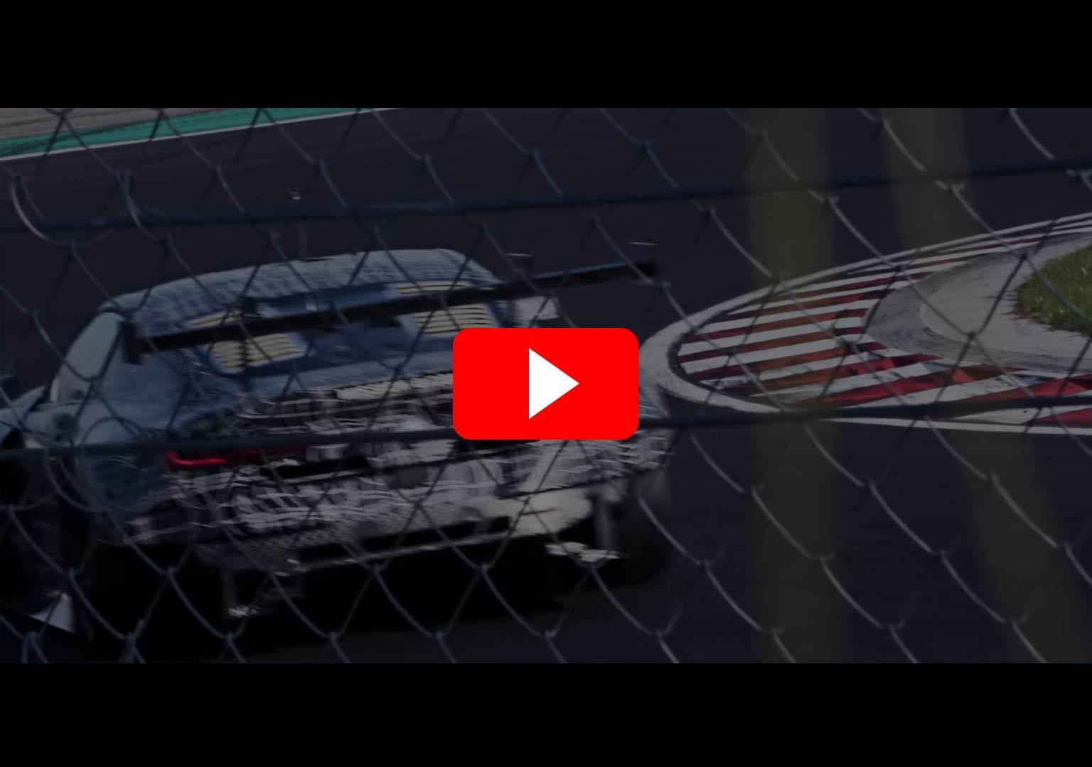 video bmw m8 mission 8 gte at work