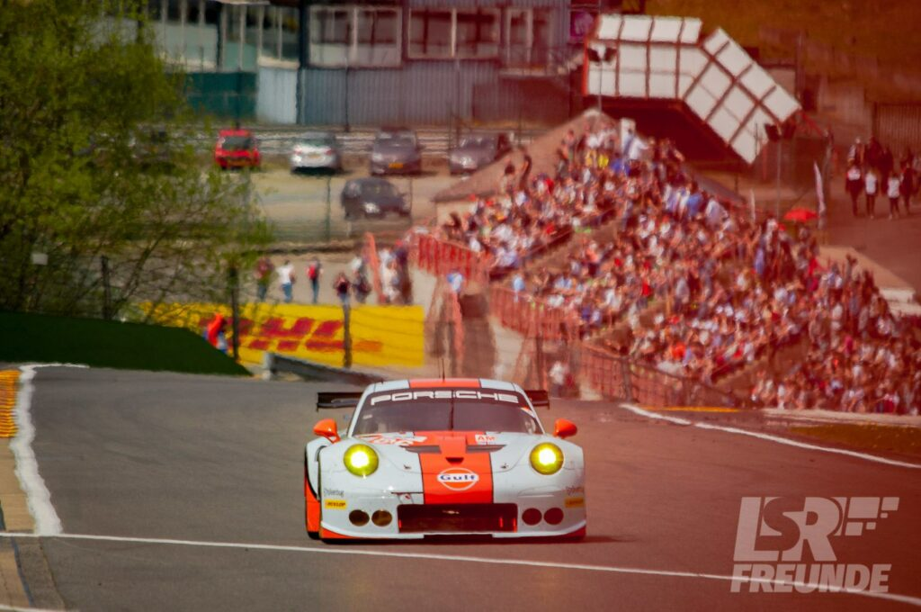Porsche 911 LMGTE-AM Gulf Racing WEC 2017 6h Spa-Francorchamps