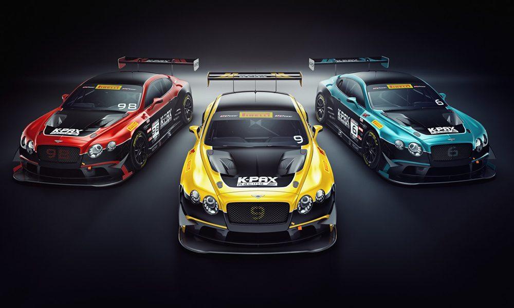 Bentley GT3 K-PAX Racing Pirelli World Cahllenge