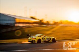 """Mercedes AMG GT3 HTP Motorsport """"Electronic Arts"""" 24h Nürburgring RAVENOL-Kurve"""