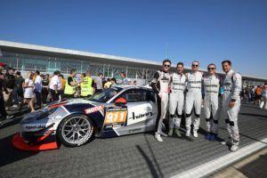 24h Dubai 2018 powered by Hankook - #911 Porsche 911 GT3 R, Herberth Motorsport: Dennis Olsen, Robert Renauer, Ralf Bohn, Daniel Allemann, Alfred Renauer