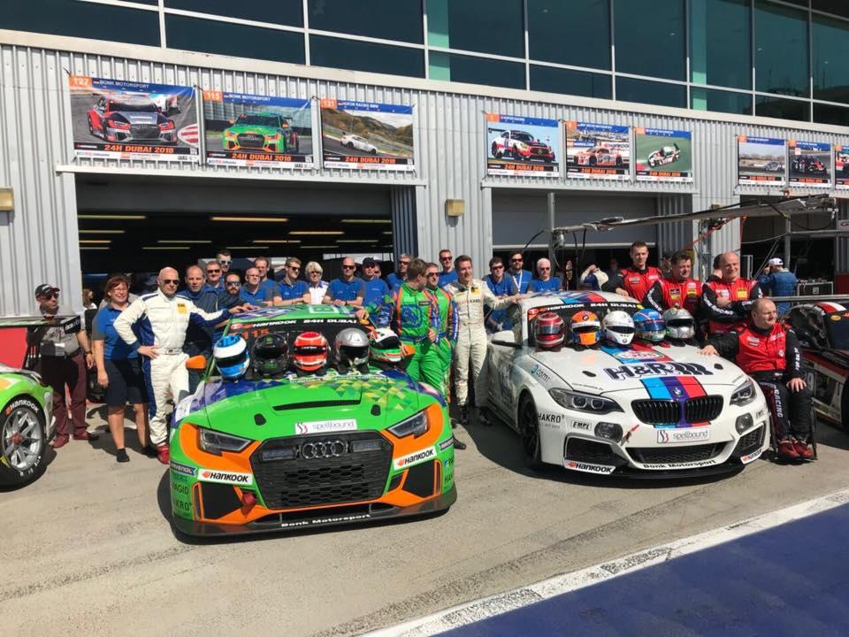 Bonk Motorsport 24h Dubai 2018
