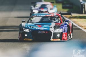 Bathurst 12hr 2018 freies Training Jamec Pem Audi R8 LMS #22