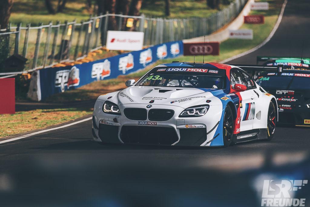Bathurst 12hr 2018 freies Training BMW Team Schnitzer Motorsport BMW M6 GT3 #43