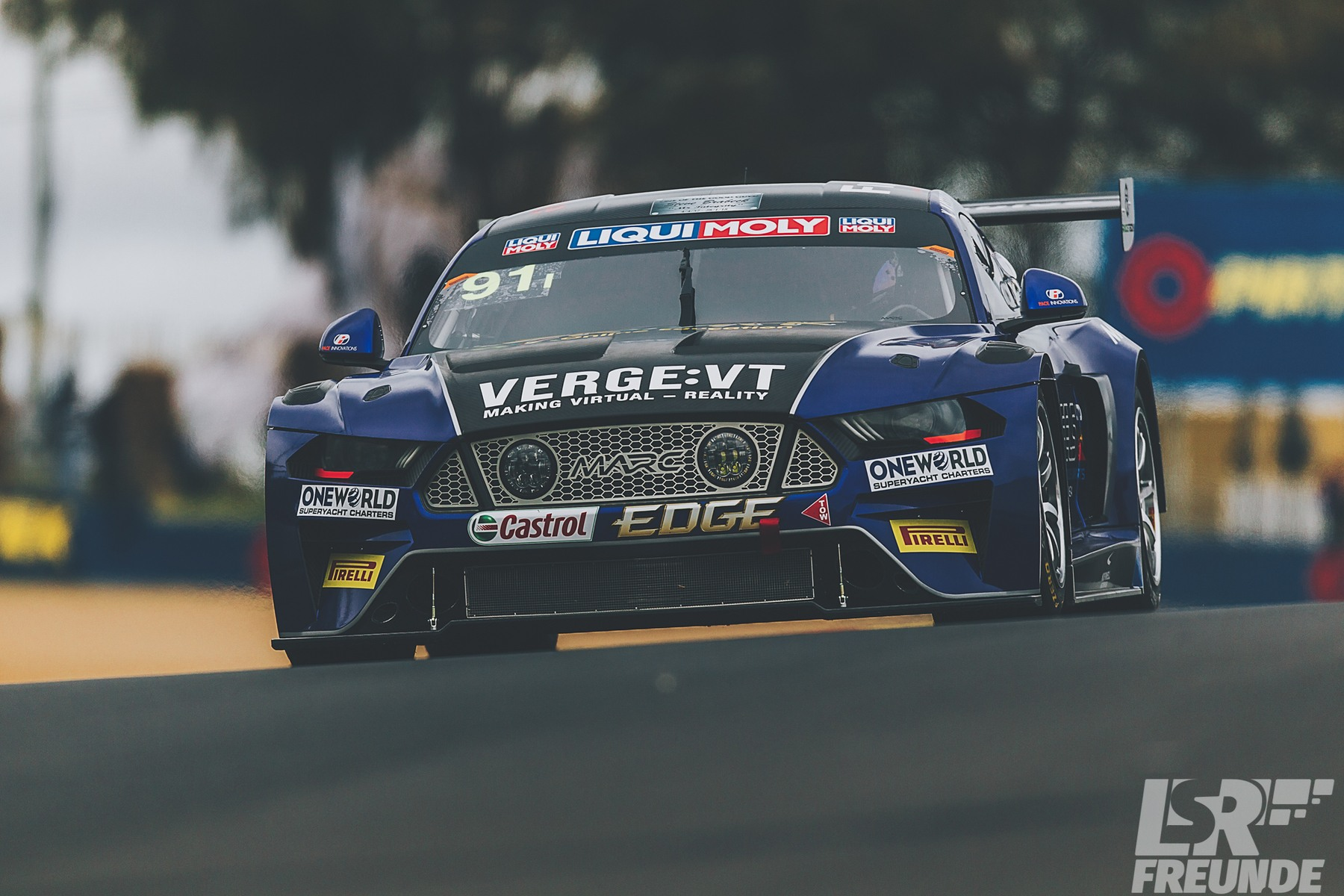 Bathurst 12hr 2018 Freitagstraining Marc V8 Ford Mustang