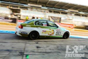 VLN1 64. Westfalenfahrt 2018 Ahrtal Motorsport BMW 325i E90 #481