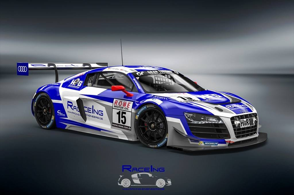 Vln 2018 Racing Engineers Bringt Audi R8 Lms Be An Den Start Lsr