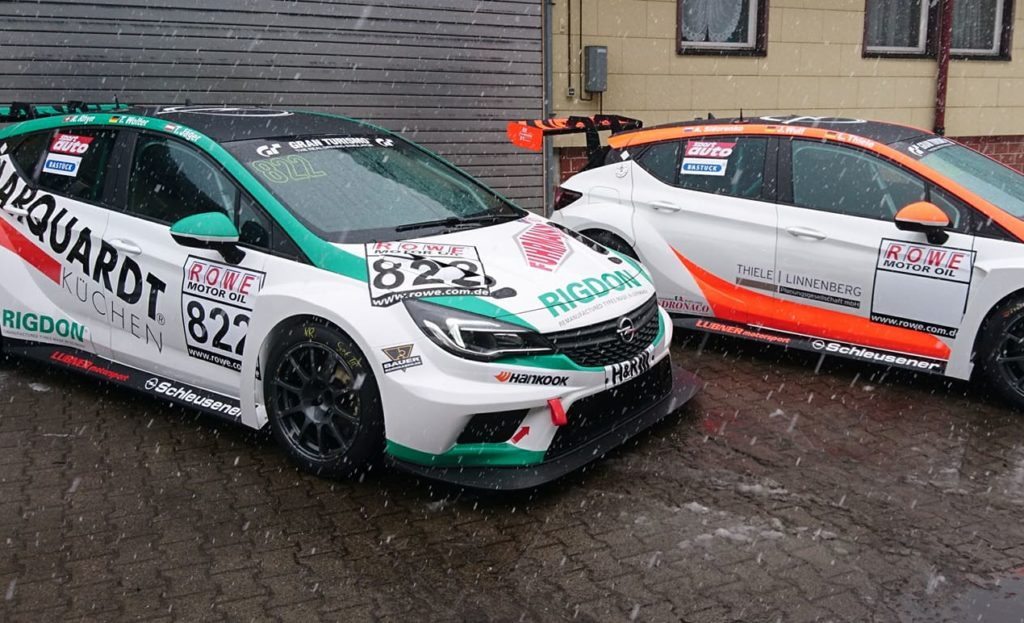 Lubner Motorsport Opel Astra TCR