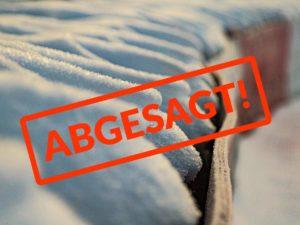 Schnee am Nürburgring sorgt für Absage der TEst- und Einstellfahrten