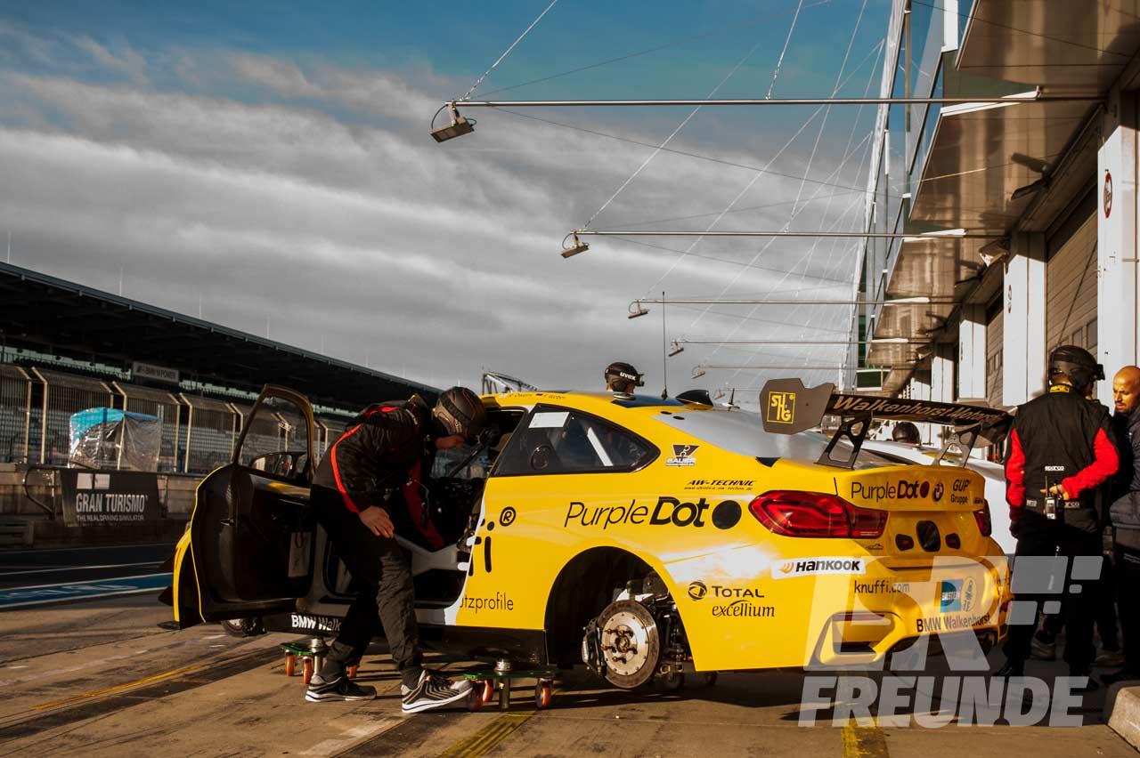 """Walkenhorst Motorsport BMW M4 GT4 #74 """"Knuffi"""" Qualifikationsrennen ADAC Zurich 24h 2018"""