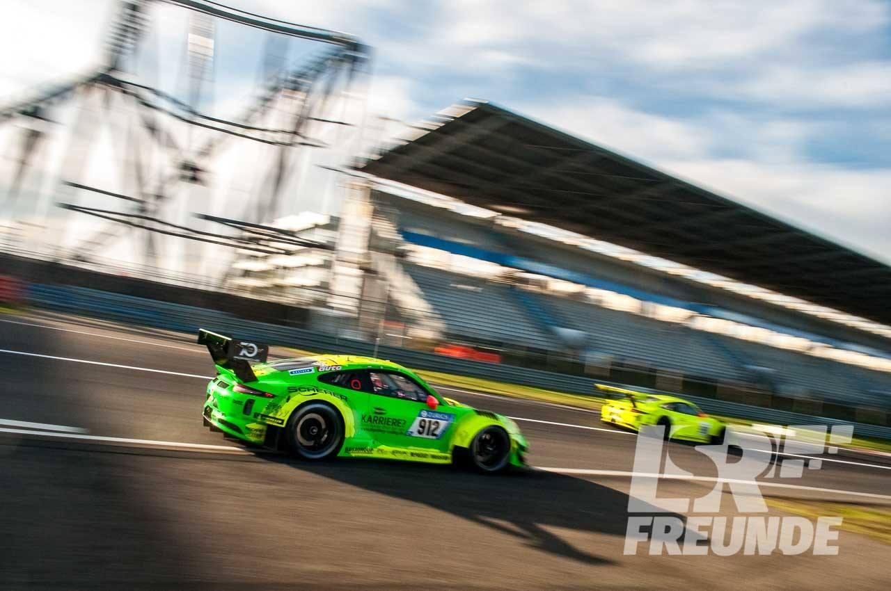 Porsche 911 GT3 Manthey Racing #912 und #911