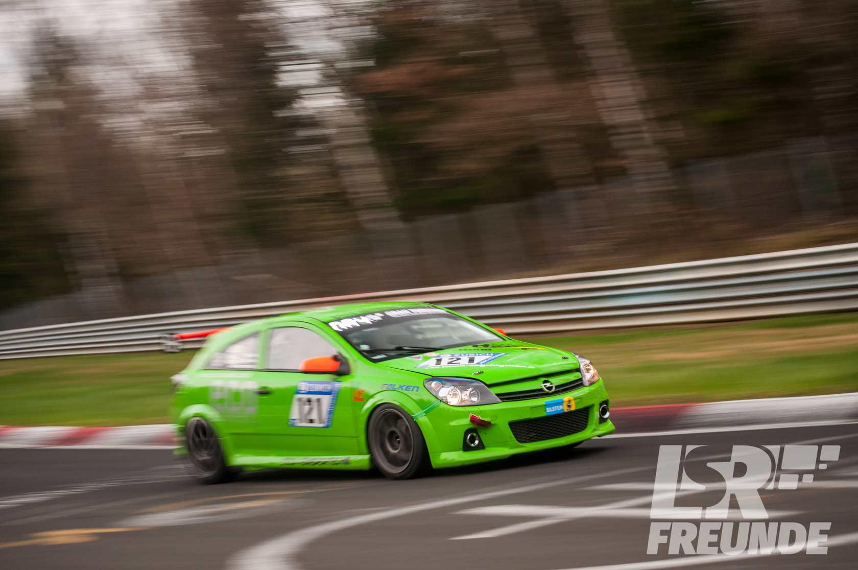 Eifelfrosch Stock Rennsport Astra GTC