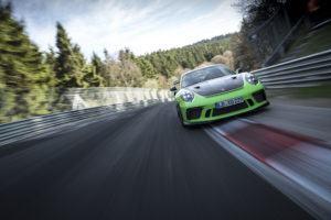 Porsche 911 GT3 RS Rekordfahrt Nordschleife 2018