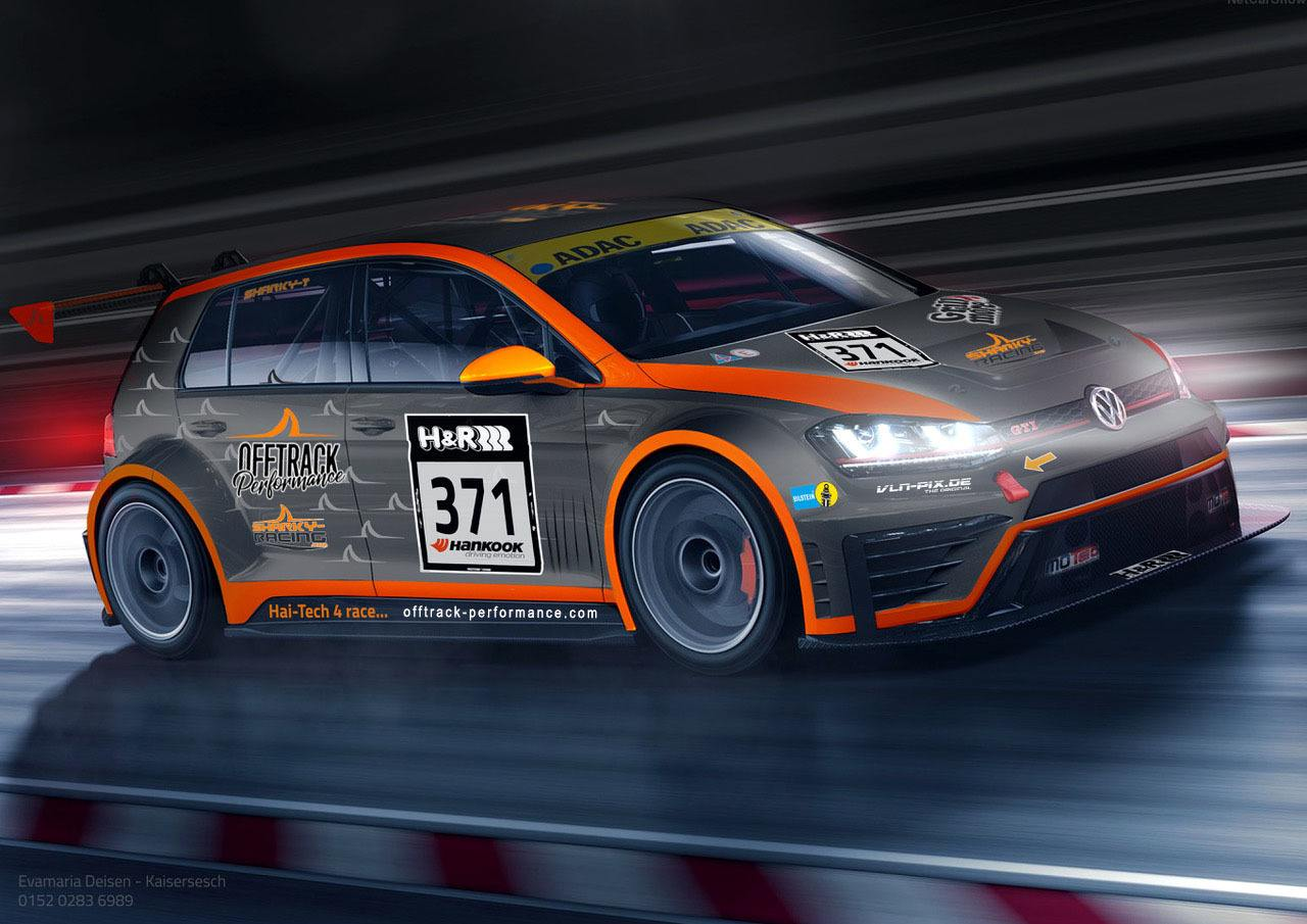 offtrack-performance-sharky VW Golf GTI TCR 24h-rennen-nuerburgring-2018