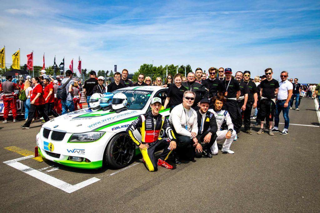 Manheller Racing Teamfoto 24h-Rennen 2018