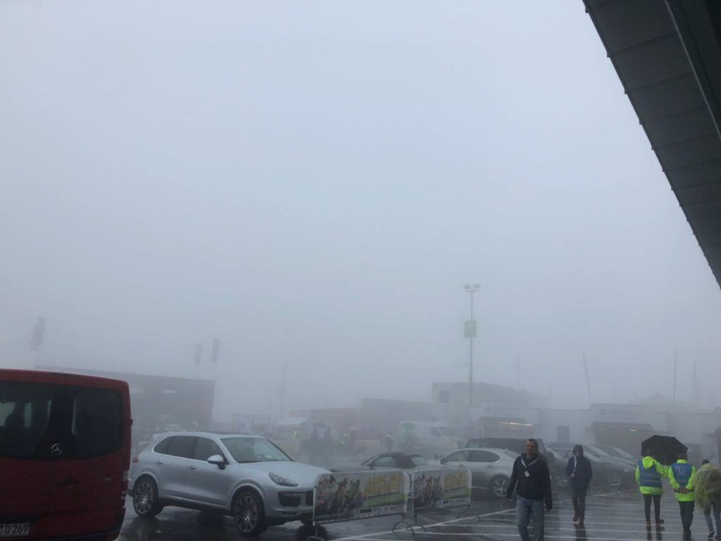 Nebel am Nürburgring