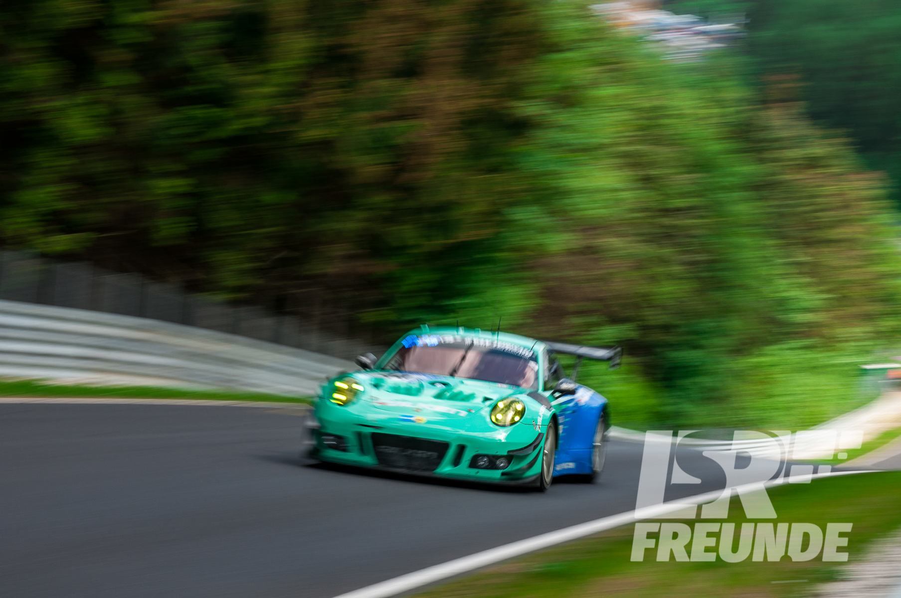 Porsche 911 GT3 R Falken Motorsport 24h-Rennen 2018
