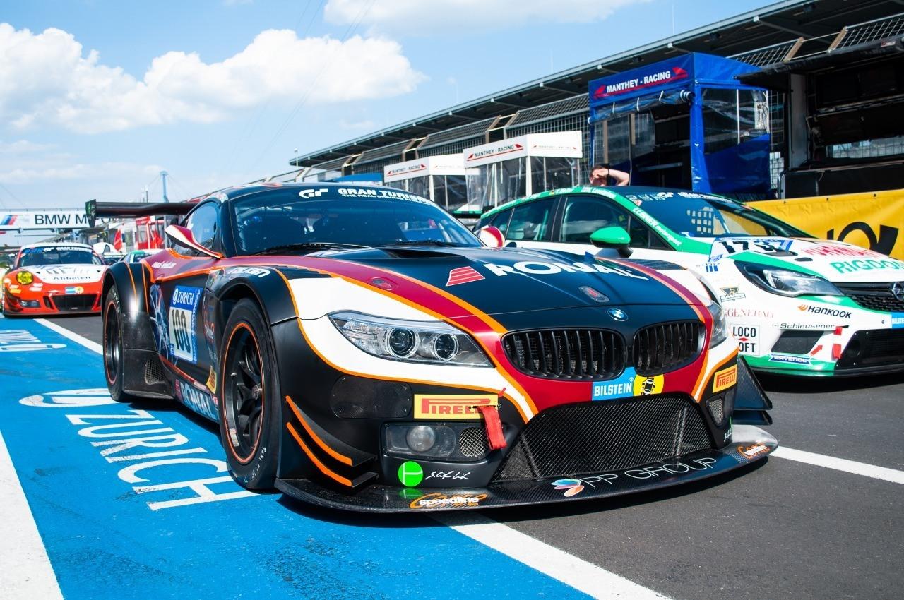 BMW Z4 GT3 PP-Group/Ronal Walkenhorst Motorsport ADAC Zurich 24h Rennen Nürburgring 2018