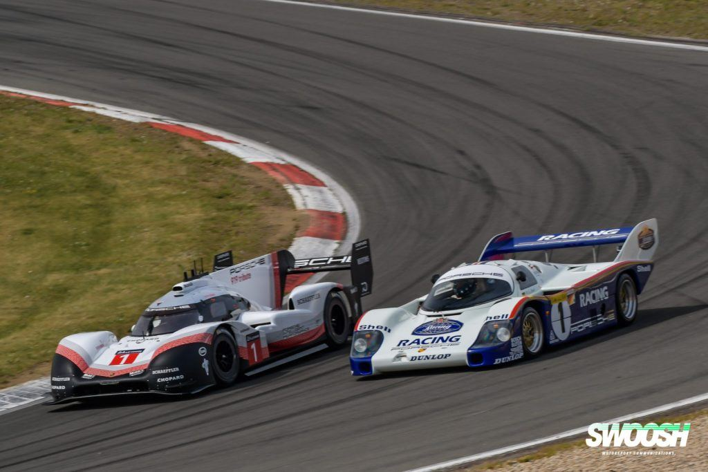 Porsche 919 Hybrid Evo vs. Porsche 956C