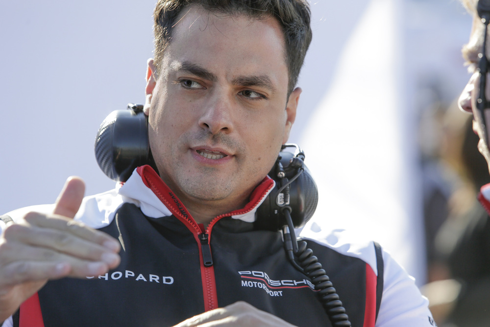 Porsche LMP Team: Stephen Mitas, Technischer Projektleiter