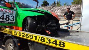 Hard Speed Motorsport Unfallschaden