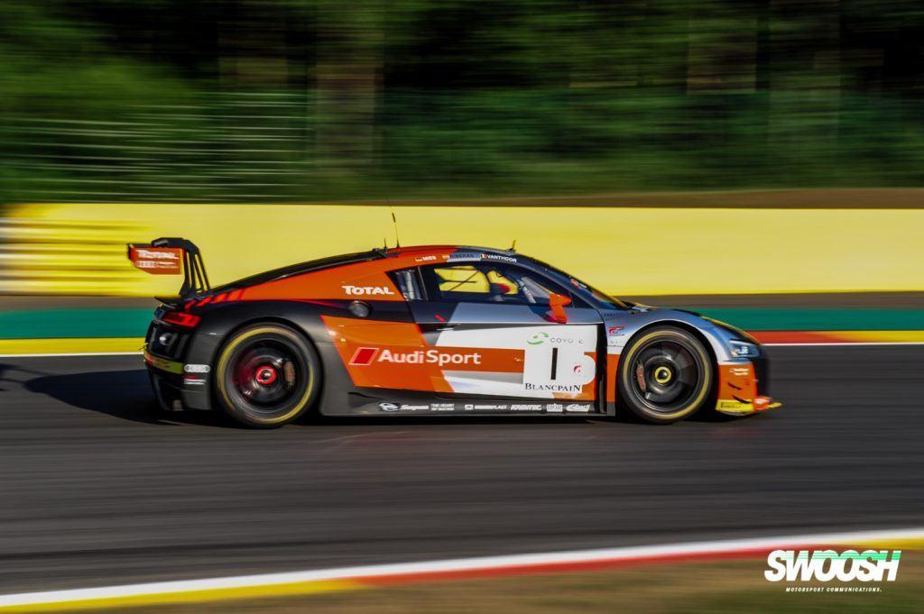 Audi Sport Team WRT #1 Dries Vanthoor