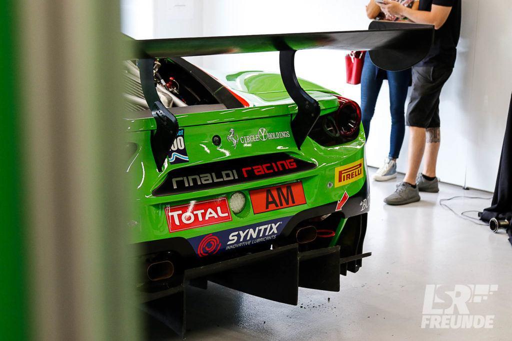 Rinaldi Racing Ferrari 488 GT3 #488 Blancpain-GT-Series Spa 24h 2018