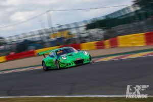 Herberth-Motorsport Porsche 911 GT3R #991 Total Spa 24h 2018