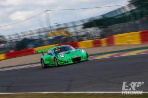 Herberth-Motorsport Porsche 911 GT3R #991 Total Spa 24h 2018