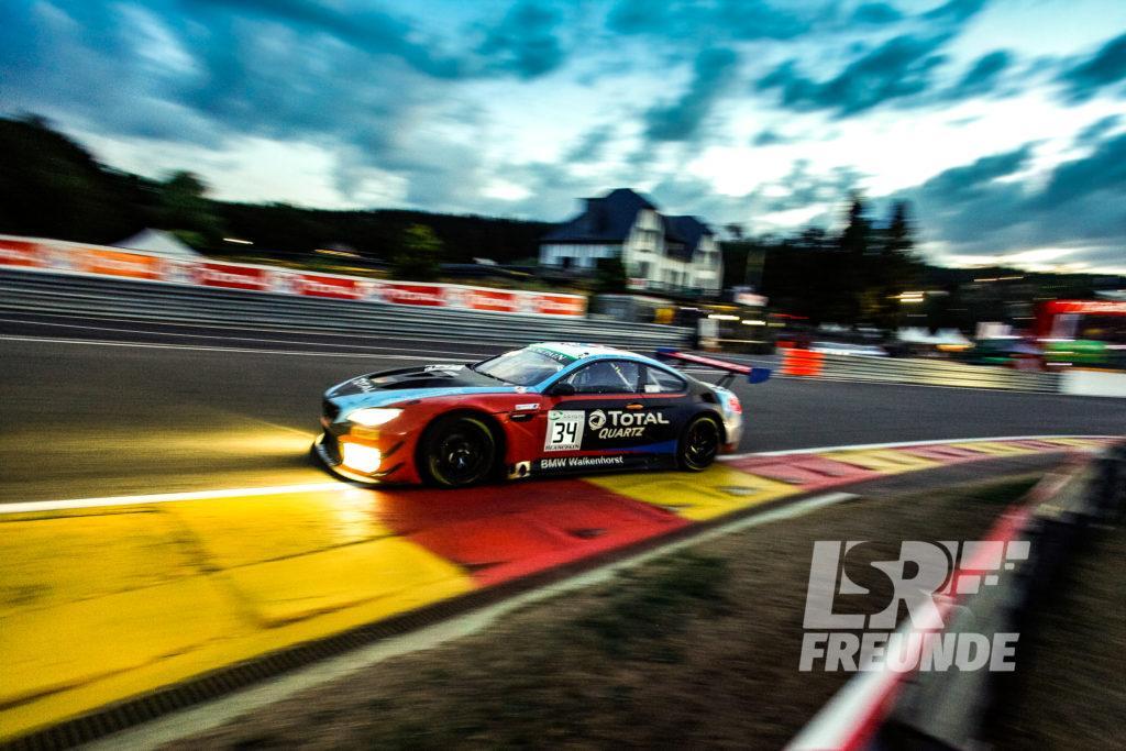 Walkenhorst Motorsport BMW M6 GT3 #34 Blancpain GT Series TOTAL 24h von Spa 2018