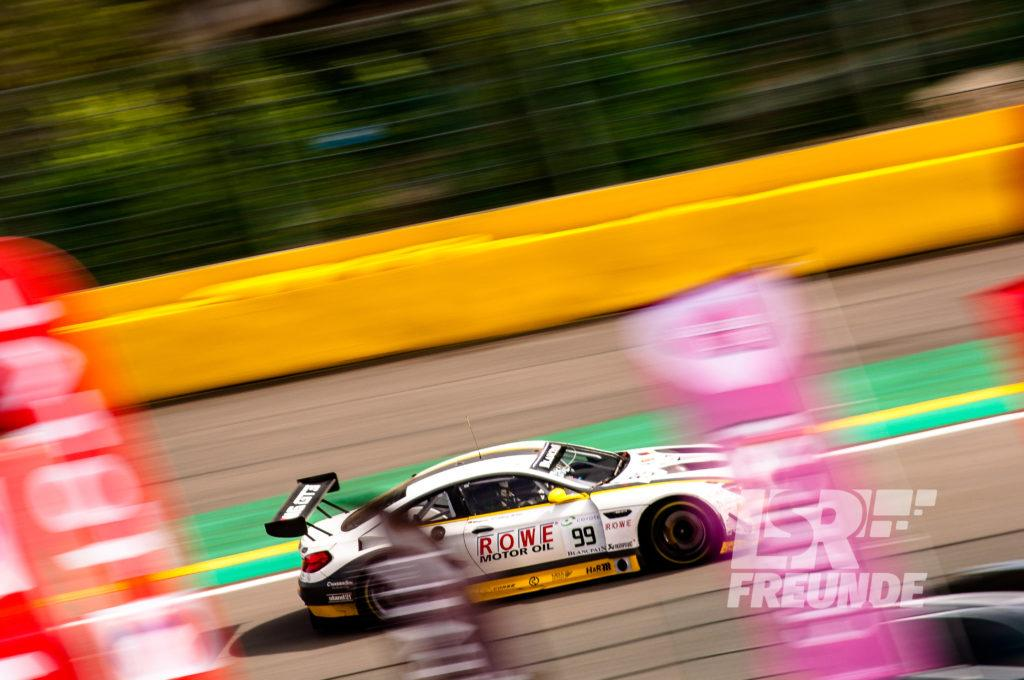 ROWE RACING BMW M6 GT3 #99 Blancpain GT Series TOTAL 24h von Spa 2018