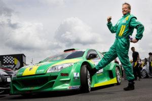 DEU, Deutschland. Nuerburg. Nuerburgring. Smudo mit seinem Renault Megane Trophy. 21.5.2009.