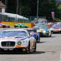 Spa 24h 2018 Starterfeld mit Team Parker Racing Bentley
